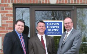 Craven Hoover Blazek Personal Injury Law